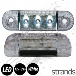 Strands Side Marker / Position Lamp LED (White)