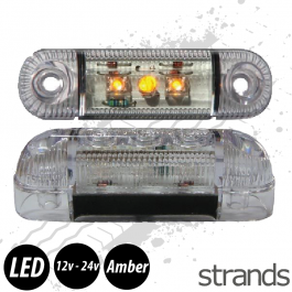 Strands Side Marker / Position Lamp LED (Amber)