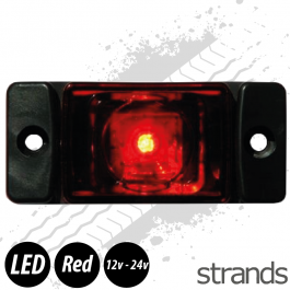 Strands LED Marker/Position Lamp - Red