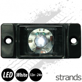 Strands LED Marker/Position Lamp - White