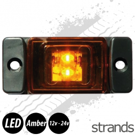 Strands LED Marker/Position Lamp - Amber
