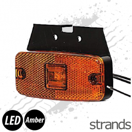 Strands LED Side Marker - Amber