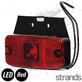 Strands LED Side Marker - Red