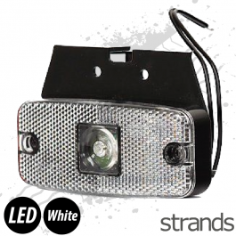 Strands LED Side Marker - White