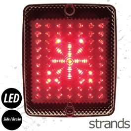 Strands LED Rear Light Cluster - Side/Brake