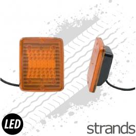 Strands LED Block Amber Lamp - INDICATOR