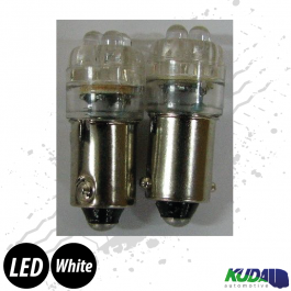 Ba9s LED Bulb - White