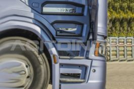 Stainless Steel Mirrored Cabin Step Protection Suitable For Scania S Series - 8 Piece