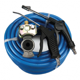 Air Duster Gun Set for Trucks, 20m, 300psi, Blue