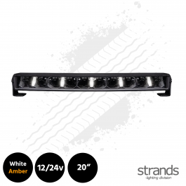 "Strands Arcum 20"" Curved LED Bar with Dual Colour Position 12/24v"
