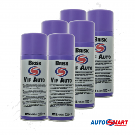 Autosmart Brisk - Dry foam upholstery & fabric cleaner (6 Pack)