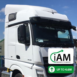 iAM Mercedes Actros BigSpace High Volume Air Management Kit. Full kit.