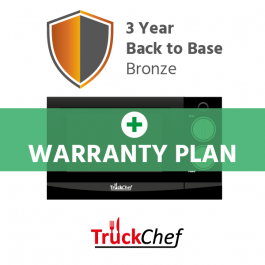 TruckChef Bronze Warranty Plan - 3 year Return to Base