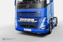 Volvo FH5 Front Grill Bar (Pre-Wired for 4 Spotlights)
