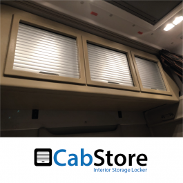 DAF XF Super Space Cab Roller Shutter, Rear Lockers (Storage Cupboard / Cabinets) CabStore
