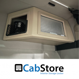MAN TG3 TGX GM Cab Corner Roller Shutter, Rear Locker (Storage Cupboard / Cabinets) CabStore