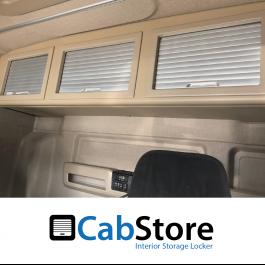 MAN TG3 TGX GM Cab Roller Shutter, Rear Lockers (Storage Cupboard / Cabinets) CabStore