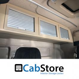 MAN TGX XXL Cab Roller Shutter, Rear Lockers (Storage Cupboard / Cabinets) CabStore