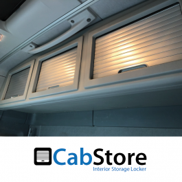 Renault T / C Range (High Roof Sleeper), Roller Shutter, Rear Lockers (Storage Cupboard / Cabinets) CabStore