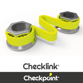 Checkpoint Checklink Yellow Wheel Nut Indicator - Various Sizes