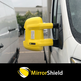 Citroen Relay 2007 on (Long Arm) MirrorShield - Super Strong Mirror Guard / Protector (Pair)