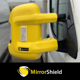 Fiat Ducato 2007 on (Long Arm) MirrorShield - Super Strong Mirror Guard / Protector (Pair)