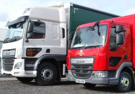Lower Level Passenger Window to suit DAF CF / LF - Fully Fitted, Blind Spot Window.