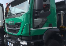 Lower Level Passenger Window to suit Iveco EuroCargo, Stralis, Trakker - Fully Fitted, Blind Spot Window.