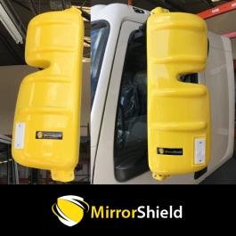 DAF LF 2007 Onwards (Euro 5 and 6) MirrorShield - Super Strong Mirror Guard / Protector (Pair)