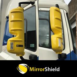 DAF XF and CF (Euro 6) MirrorShield - Super Strong Mirror Guard / Protector (Pair)