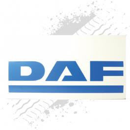 DAF White/Blue Mudflaps (Pair)