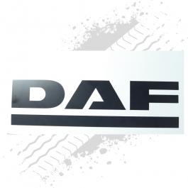 DAF White/Black Mudflaps (Pair)
