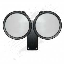 Double Licence Disc / Tax Disc Holder (Black)