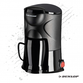 Dunlop Black, New Generation, 1 Cup Coffee Maker 24v