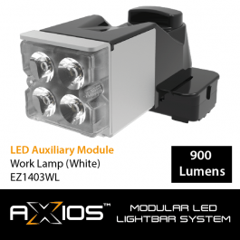 Axios LED Auxiliary Module - Work Lamp (12/24v)