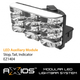Axios LED Auxiliary Module - Stop, Tail, Indicator (12/24v)