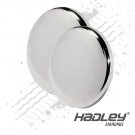 Hadley 3.75″ & 4″ Round Bell Shield, End Cover for Bully Horns - H00926 (Set of 2)