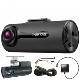 THINKWARE F70 Dash Cam Full HD 1080p Format Free 140 Degree Wide Angle View - GPS And Locking Box