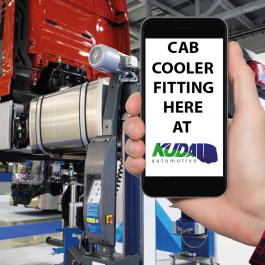 Cab Cooler fitting at Kuda UK LTD