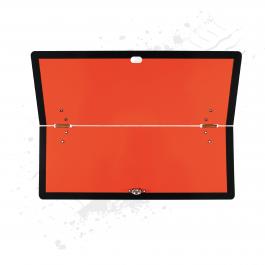 Folding Hazchem ADR Board / Plate (Horizontal) Stainless Steel