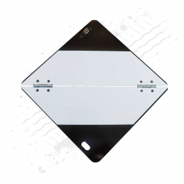 Folding ADR Limited Quantity (LQ) Plate / Panel, Collapsible (Aluminium)