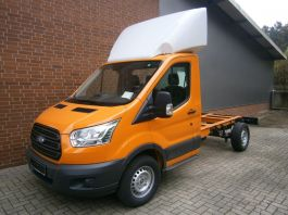 Ford Transit 2014 on. Fixed Roof Spoiler.