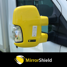 Ford Transit 2014 on (Long Arm) MirrorShield - Super Strong Mirror Guard / Protector (Pair)