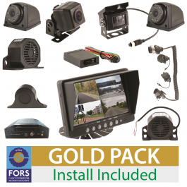 FORS Approved Gold Camera and Sensor Kit - Rigid or Artic, Install Included.
