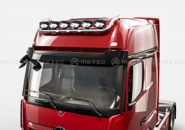 Mercedes Actros 4 and 5 GigaSpace. Roof Light Bar. 2011 Onwards. Pre-Wired. 6 Lamp Fixings.