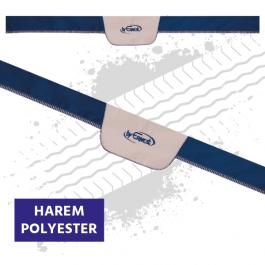 Truck Windscreen Pelmet, Universal - Blue / Cream (Harem Style)