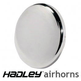 """7.75″ Round Bell Shield, End Cover for 37"""" Round Horn - H00928B (Single)"""