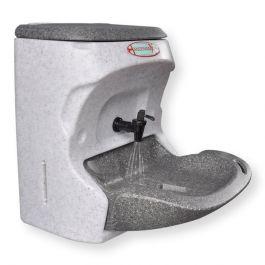 Teal Handeman Xtra Hand Wash Station 24v for vehicles.