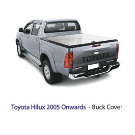Toyota Hilux 2005 Onwards - Buck/Tonneau Cover