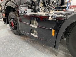 Mercedes Actros 4 / 5, 6x2 Side Skirts to suit 490 Litre Tank.